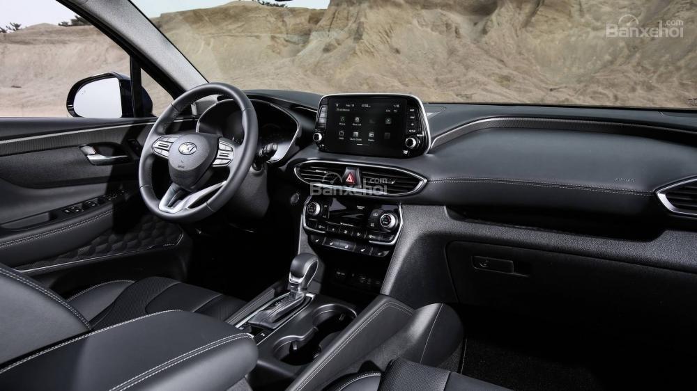 Đánh giá xe Hyundai Santa Fe 2019-2020 về trang bị tiện ích/