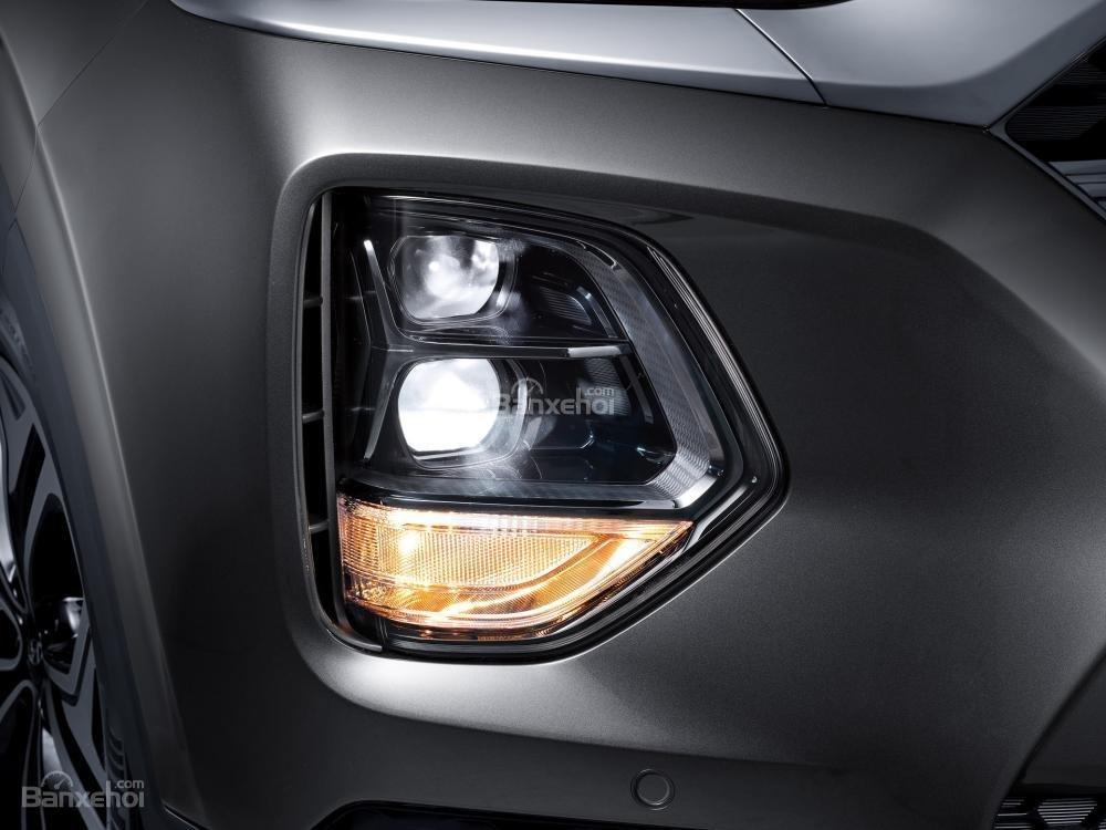 Đèn pha và đèn sương mù xe Hyundai Santa Fe 2019-2020