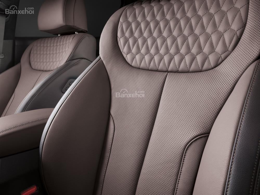 Đánh giá xe Hyundai Santa Fe 2019-2020 về hệ thống ghế ngồi
