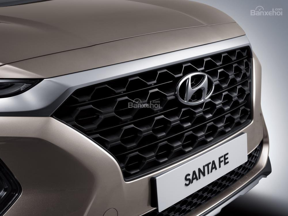 Lưới tản nhiệt xe Hyundai Santa Fe 2019-2020