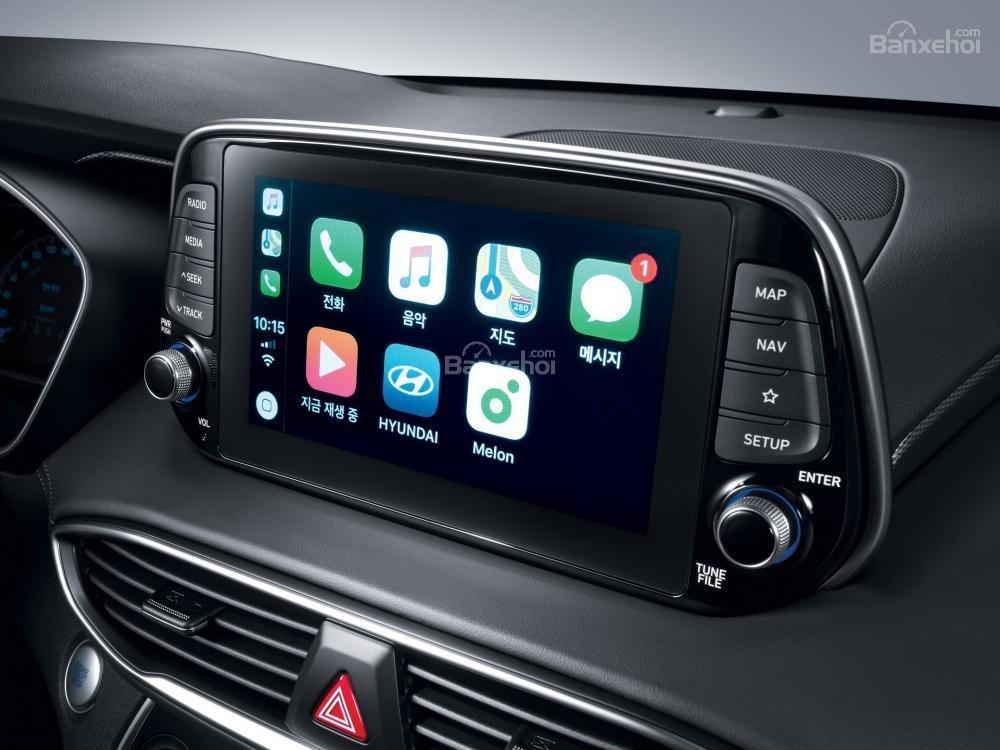 Màn hình thông tin giải trí xe Hyundai Santa Fe 2019-2020 1