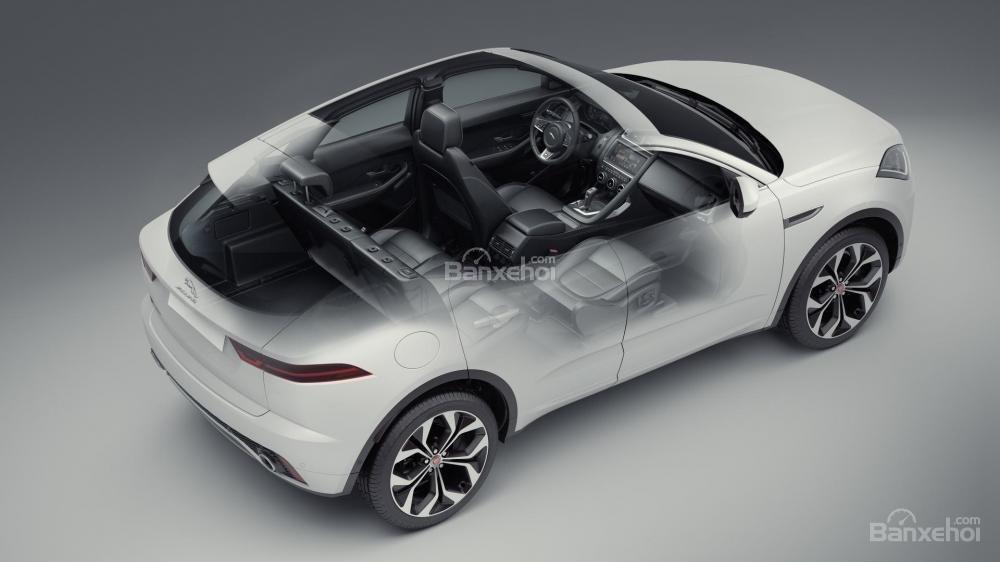 Hệ thống ghế ngồi xe Jaguar E-Pace 2018