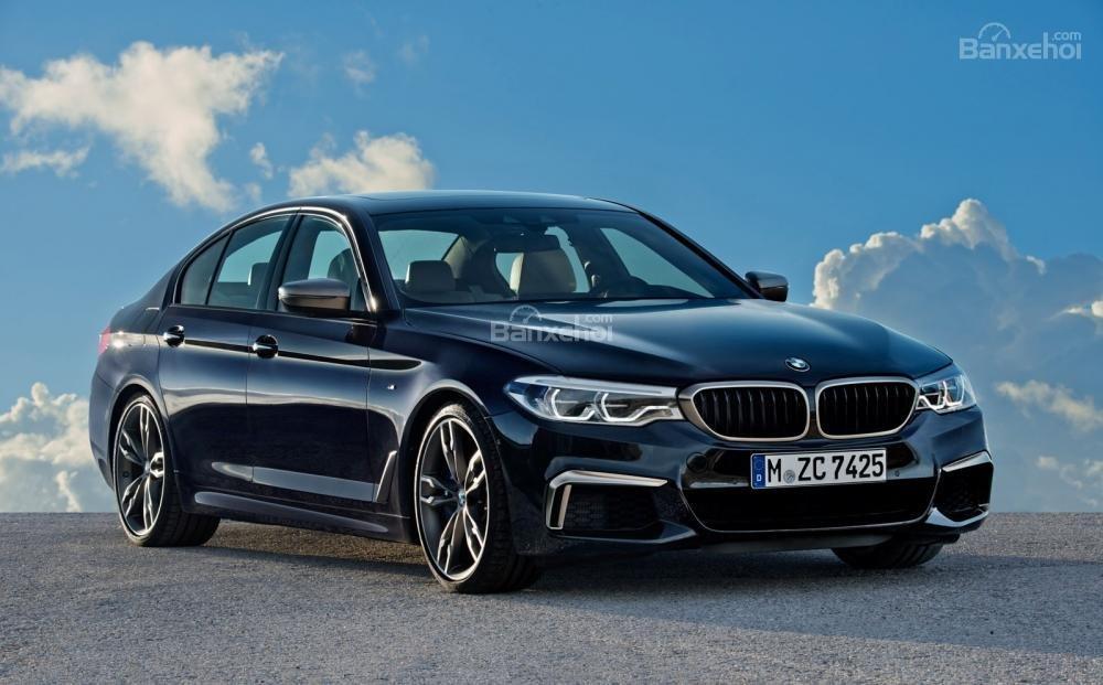 BMW M550i xDrive 2018.