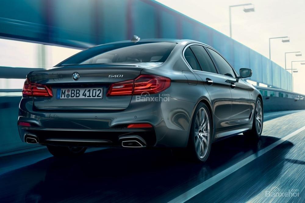 Đuôi xe BMW 5-Series 2018