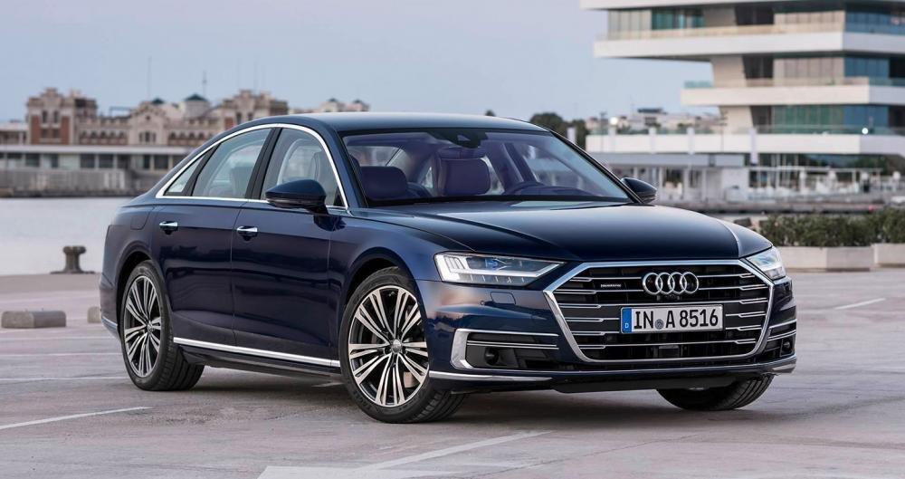 Audi A8 2019 đầu xe