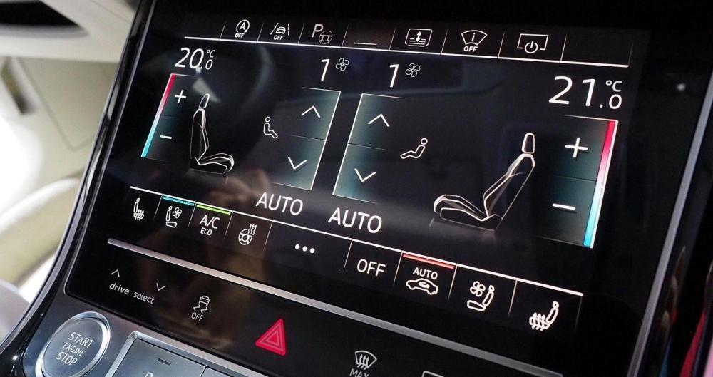 Ảnh chụp màn hình xe Audi A8 2018