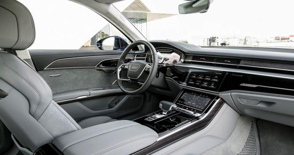 Ảnh chụp ghế ngồi xe Audi A8 2018