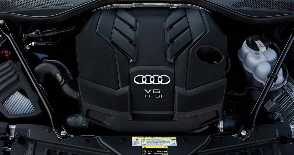 Ảnh động cơ xe Audi A8 2018