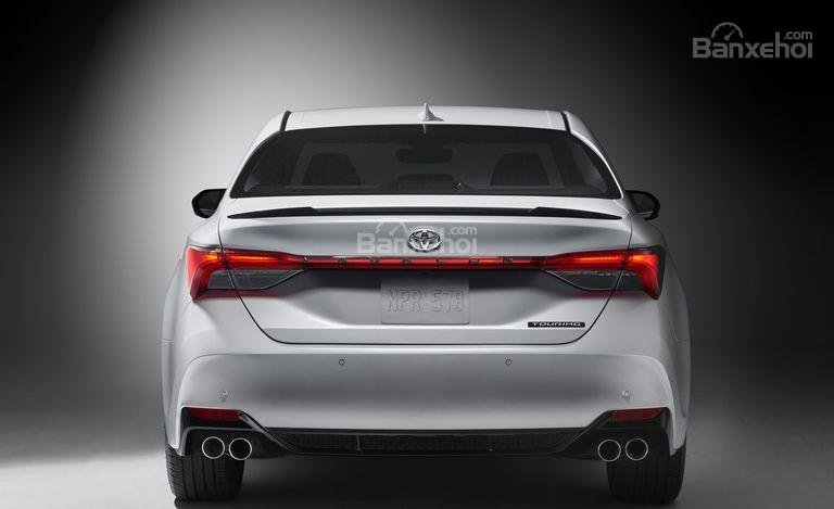 Đánh giá xe Toyota Avalon 2019: Đuôi xe.