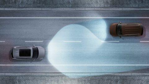 Đánh giá xe Volkswagen Tiguan Allspace 2018: Hệ thống Dynamic Light Assist.