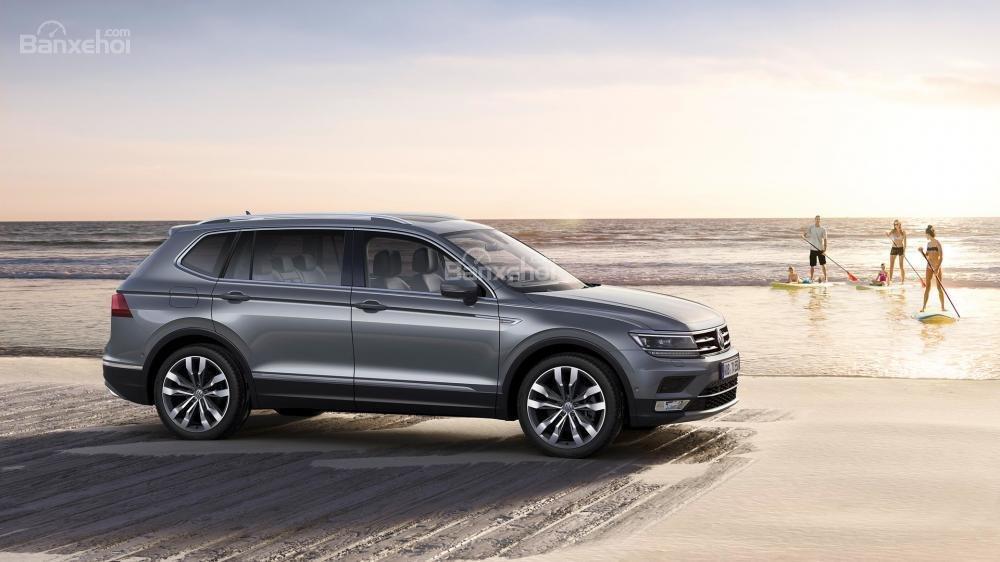 Thân xe Volkswagen Tiguan Allspace 2018