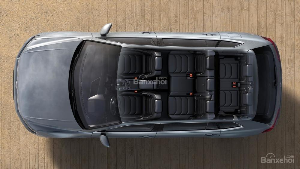 Đánh giá xe Volkswagen Tiguan Allspace 2018: Không gian 5+2 ghế ngồi.