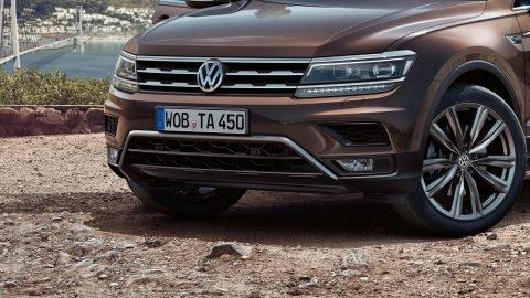 Lưới tản nhiệt xe Volkswagen Tiguan Allspace 2018