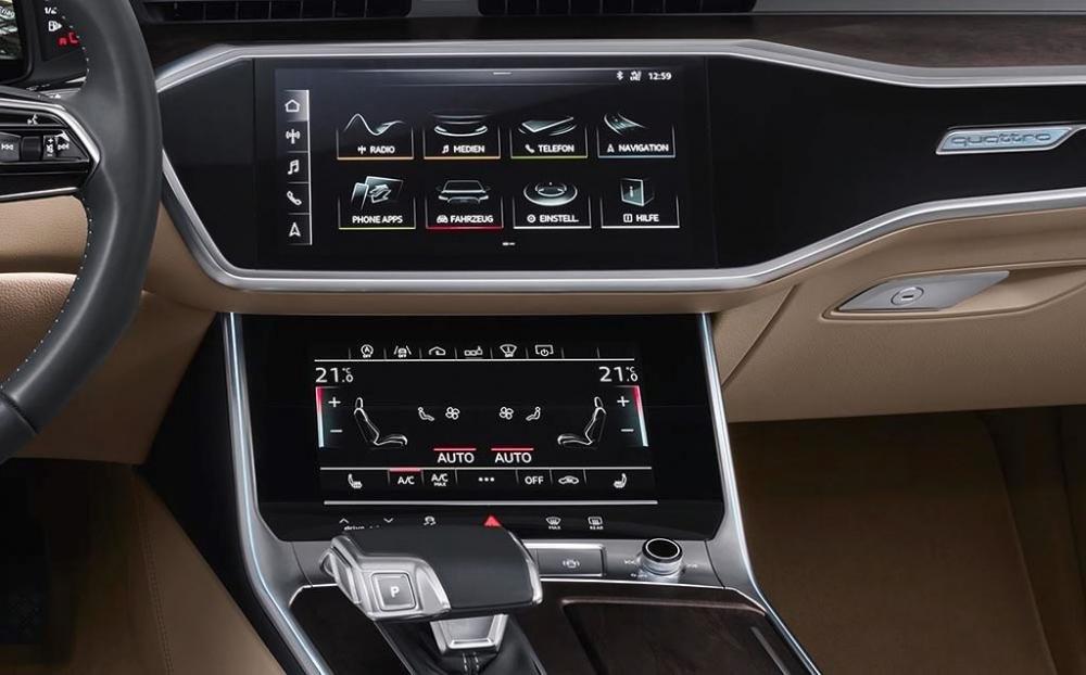 Audi A6 2019 khác biệt thế nào so với thế hệ hiện hành qua hình ảnh? a23