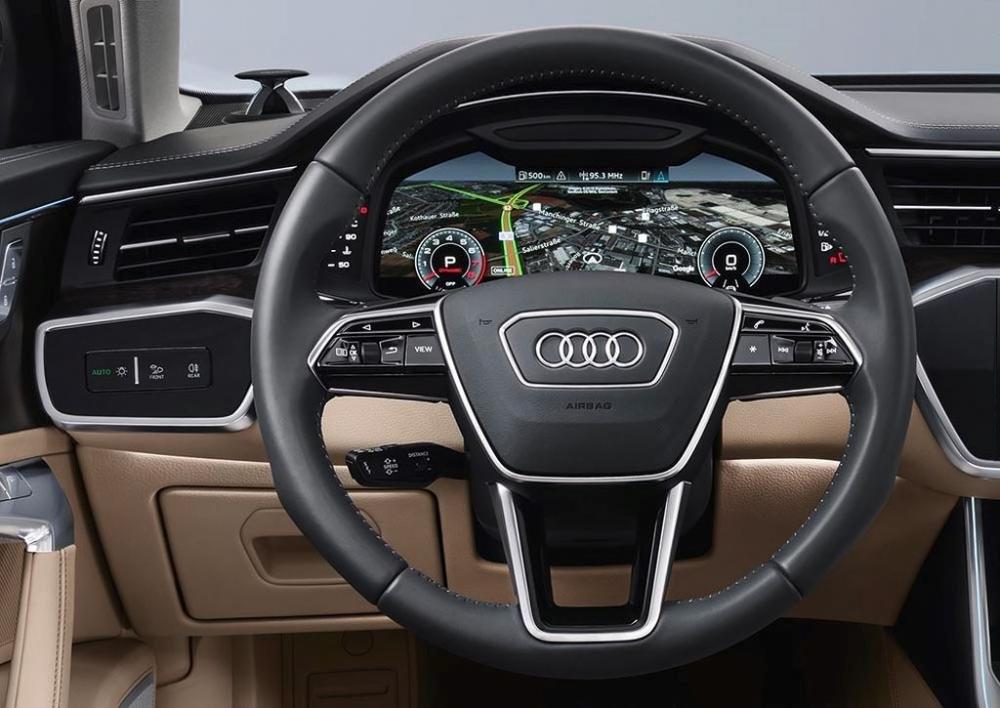 Đánh giá xe Audi A6 2019 về cụm đồng hồ lái 2