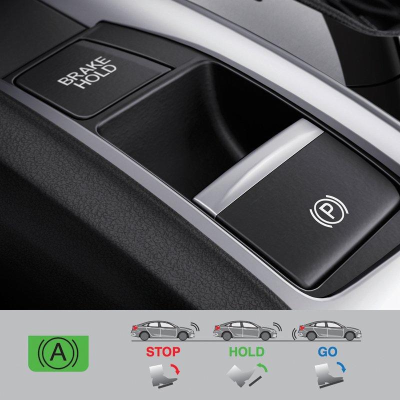 Ảnh chụp chế độ an toàn xe Honda Civic 1.8E 2018