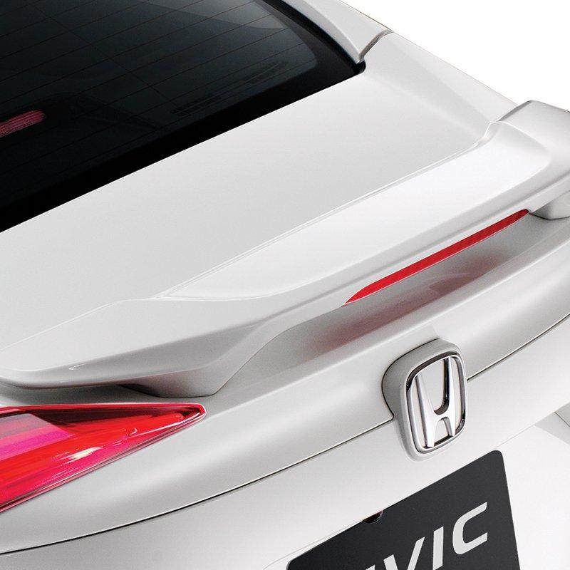 Ảnh chụp cánh gió xe Honda Civic 1.8E 2018