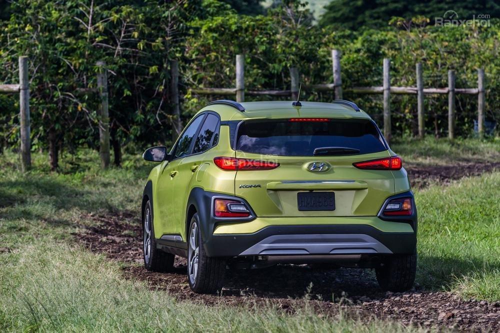 Hyundai Kona 2018 sở hữu ngoại thất độc đáo, khác biệt trong phân khúc a2