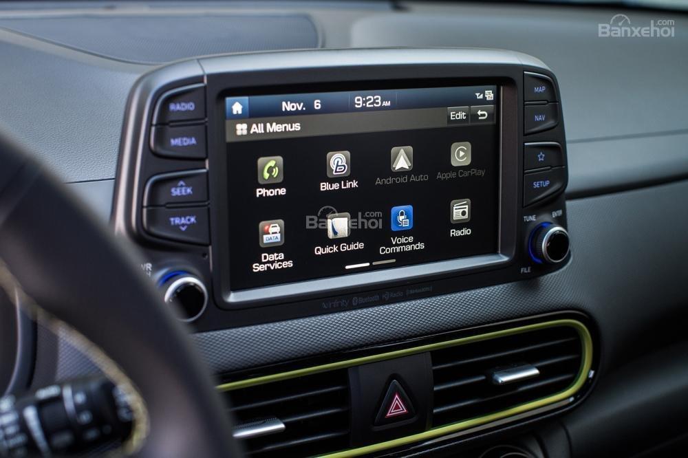 Ưu điểm Hyundai Kona 2018: Giá thấp, nhiều trang bị a2