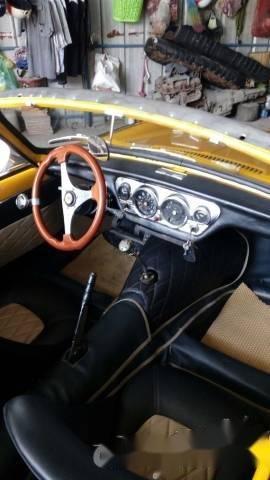 Bán Triumph Spitfire MK3 1963, màu vàng, nhập khẩu  -3