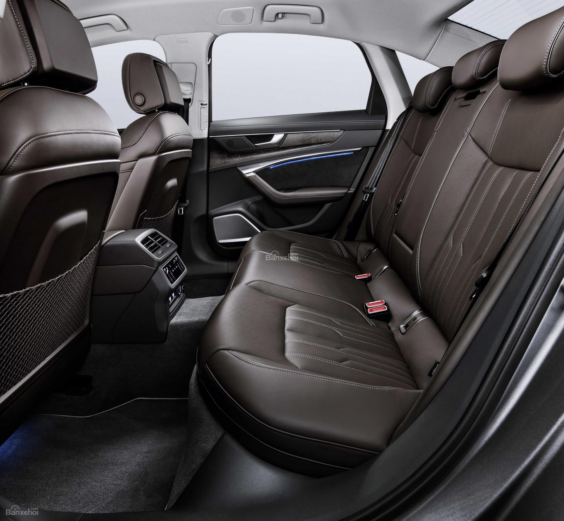 Đánh giá xe Audi A6 2019 về hệ thống ghế ngồi 2a