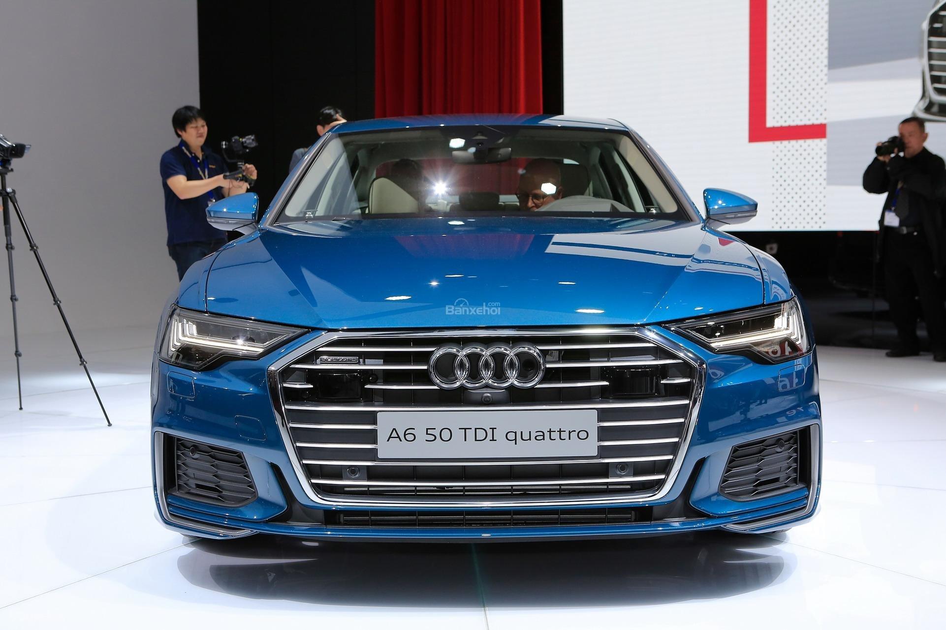Đánh giá xe Audi A6 2019 về thiết kế đầu xe 1a