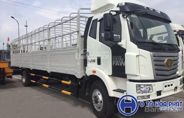 Bán xe tải Faw 9T6 đời 2018, màu trắng-0