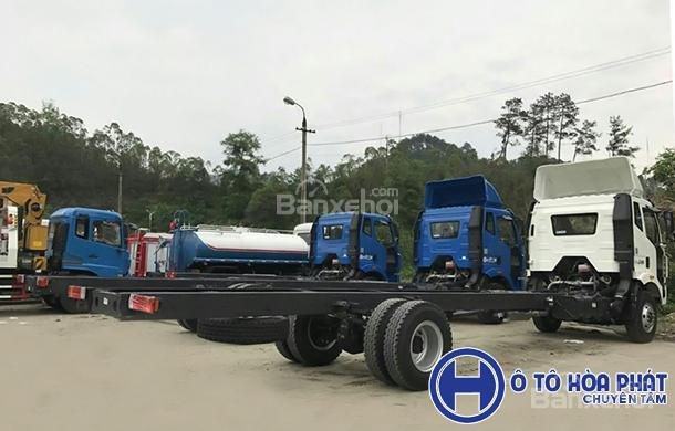 Bán xe tải Faw 9T6 đời 2018, màu trắng-1