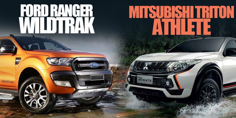 Rẻ hơn 100 triệu, Mitsubishi Triton Athlete 2018 có thể chiến thắng Ford Ranger Wildtrak 2018 không?.