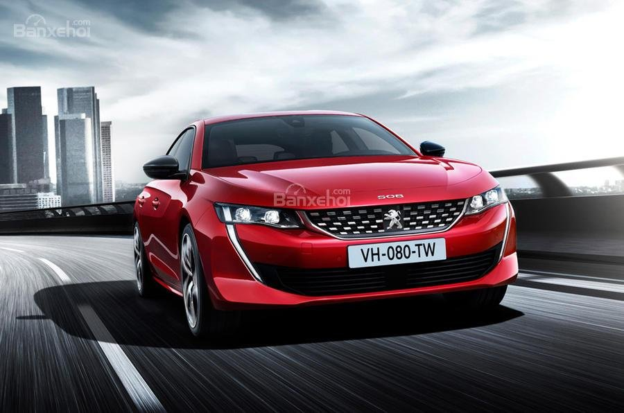 Đánh giá xe Peugeot 508 2019.