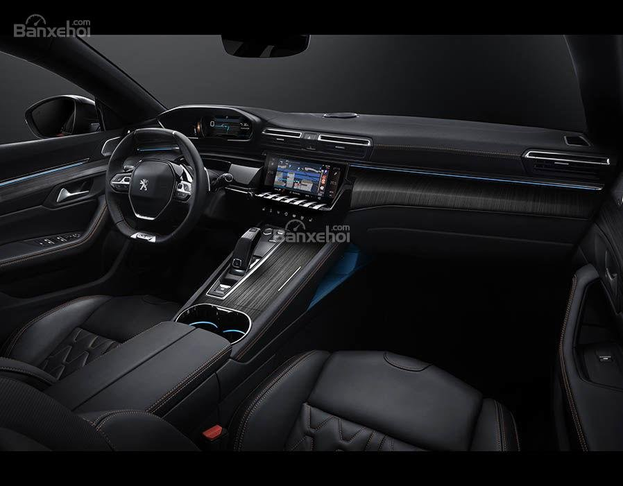 Đánh giá xe Peugeot 508 2019: Nội thất xe.