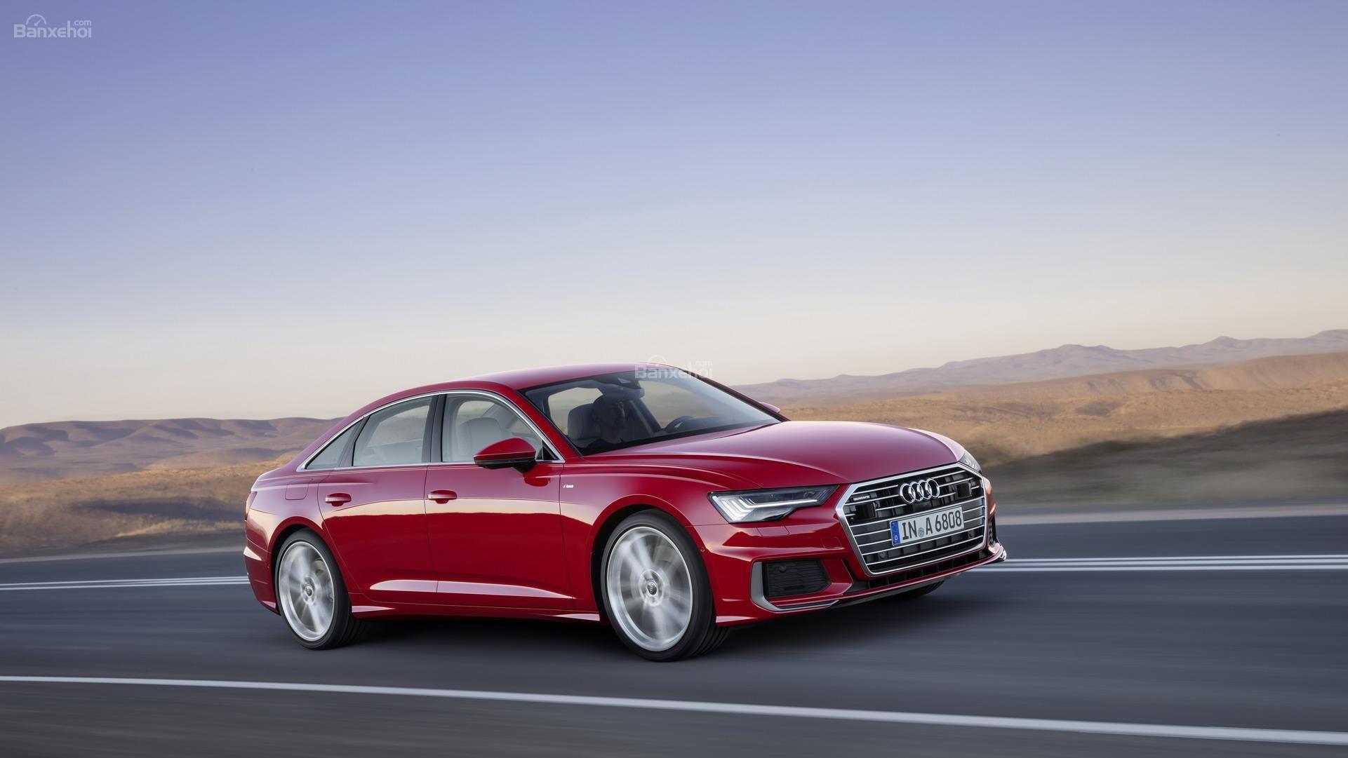 Đánh giá xe Audi A6 2019 về cảm giác lái 2