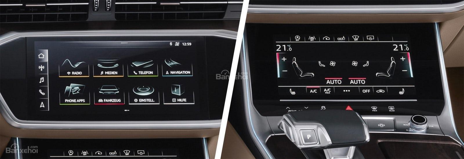 Đánh giá xe Audi A6 2019 về trang bị tiện nghi 2