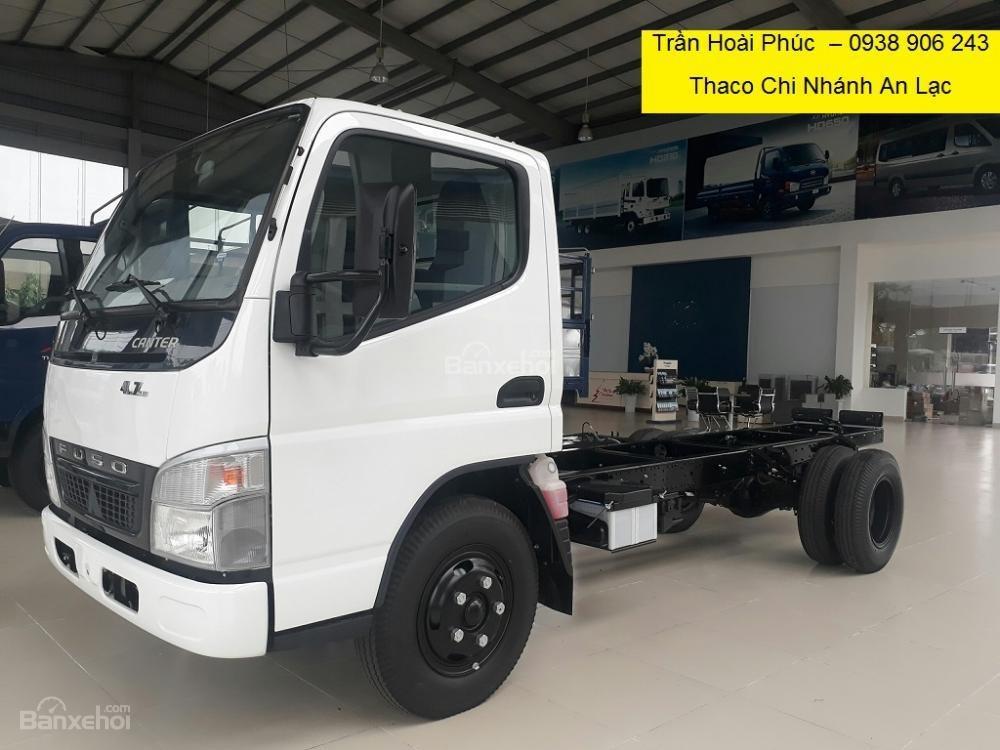 Bán xe tải Fuso Canter 4.7 thùng mui bạt/thùng kín, bán trả góp vay 80%, giá tốt nhất-2