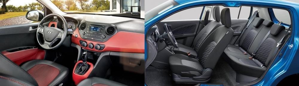 So sánh Suzuki Celerio 2018 và Hyundai Grand i10 2018 về ghế xe
