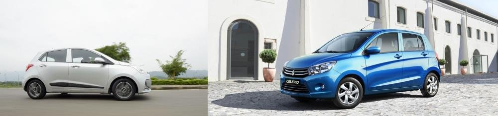 So sánh Suzuki Celerio 2018 và Hyundai Grand i10 2018 về cửa xe