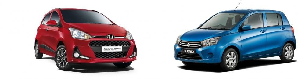 So sánh Suzuki Celerio 2018 và Hyundai Grand i10 2018 về thân xe