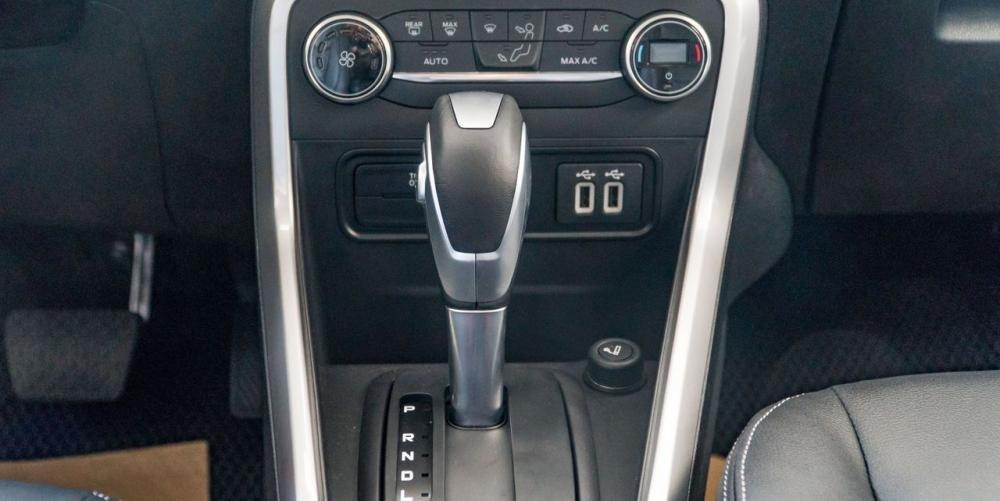 Chevrolet Trax 2018 và Ford EcoSport đều sử dụng hộp số tự động 6 cấp.
