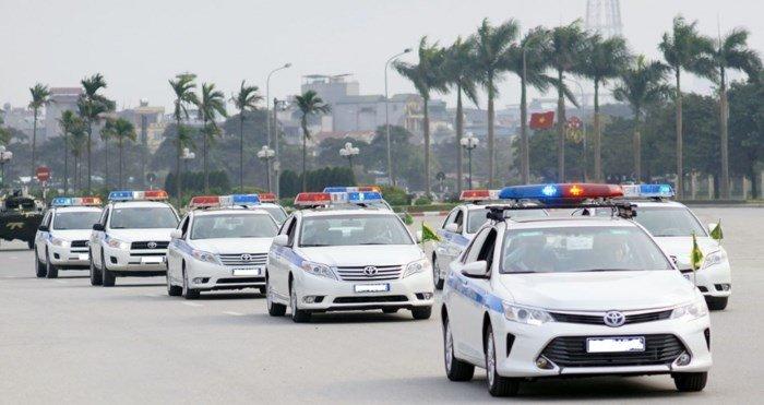 Các loại và thứ tự xe ưu tiên tại Việt Nam 1