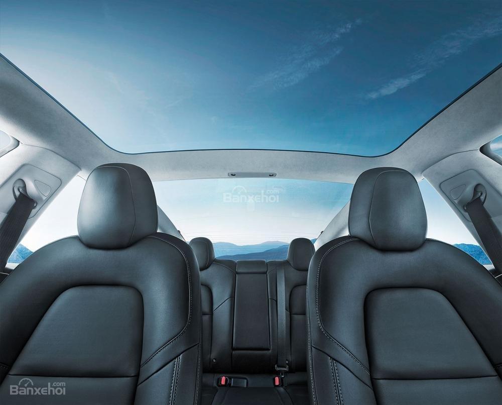Đánh giá xe Tesla Model 3 2018 về hệ thống ghế ngồi - Ảnh a1