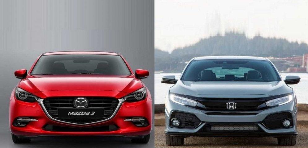 Cùng tầm giá 750 triệu đồng, chọn sedan Mazda3 2.0L 2018 hay Honda Civic 1.8E 2018?