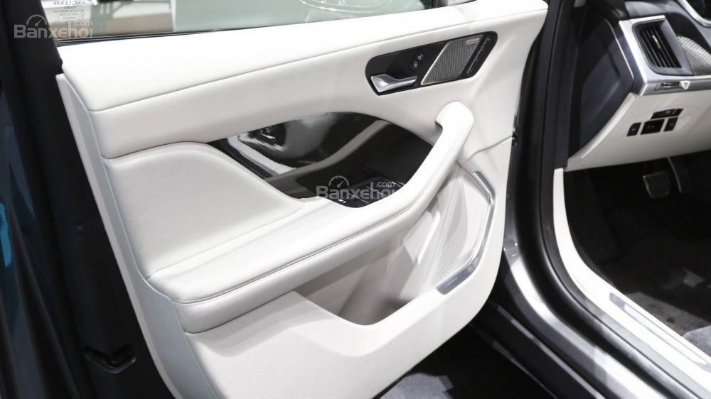 Đánh giá xe Jaguar I-Pace 2019: Mặt trong cửa.