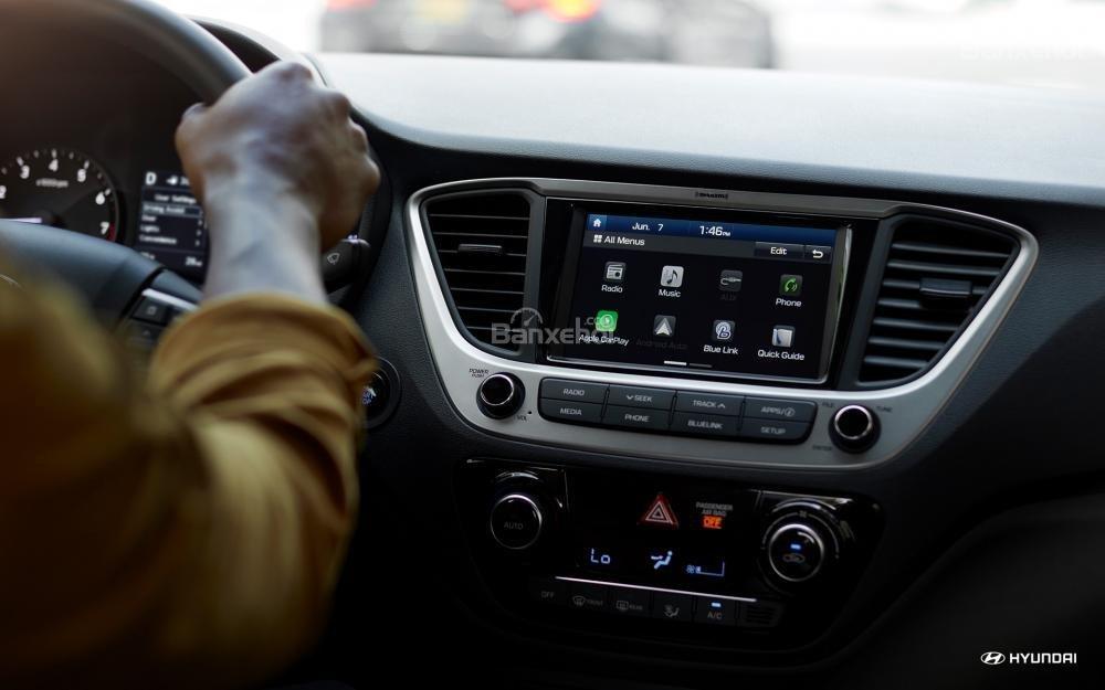 Ưu điểm Hyundai Accent 2018 - Khoang nội thất chất lượng cao a1