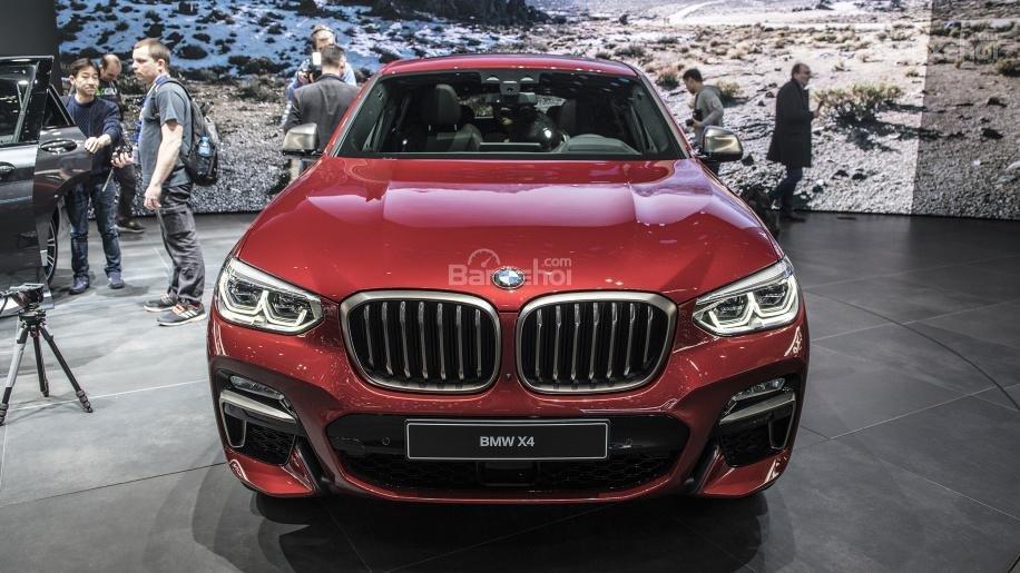 Đánh giá xe BMW X4 2019: Đầu xe.