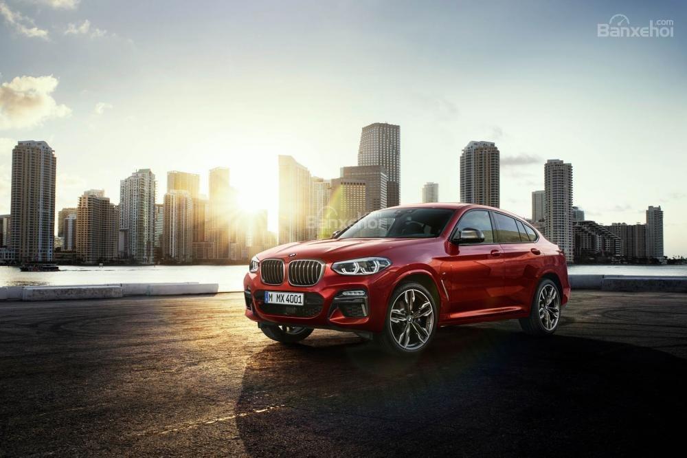 Đánh giá xe BMW X4 2019: Xe sở hữu nhiều ưu điểm vượt trội.