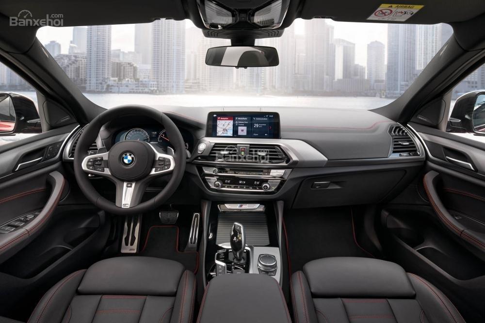 Đánh giá xe BMW X4 2019: Khoang nội thất sang trọng.