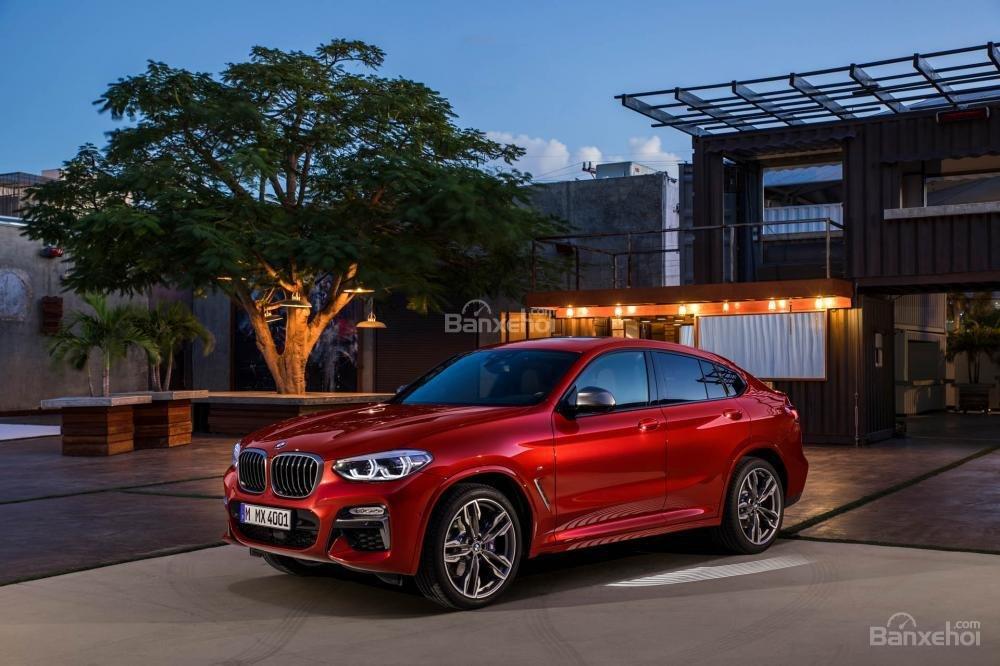 Đánh giá xe BMW X4 2019: Xe sở hữu nhiều tùy chọn động cơ.