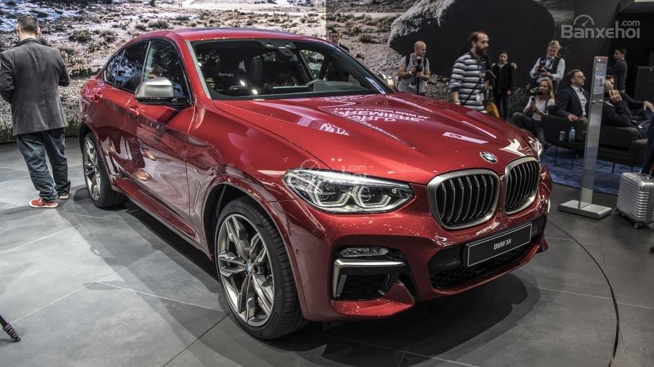 Đánh giá xe BMW X4 2019.