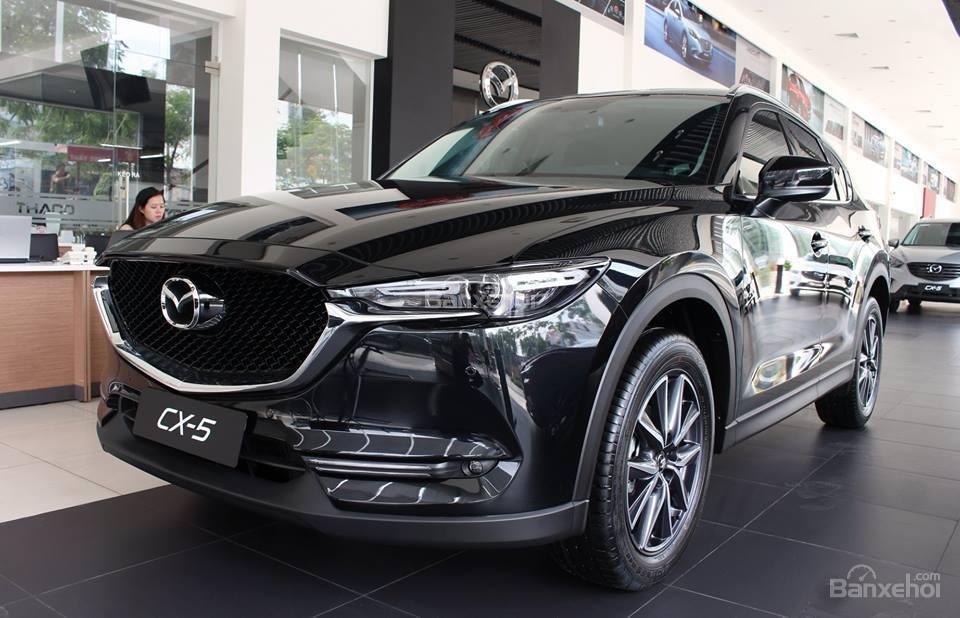 Bán Mazda Cx 5 đời 2018 Màu Xanh đen Giao Ngay