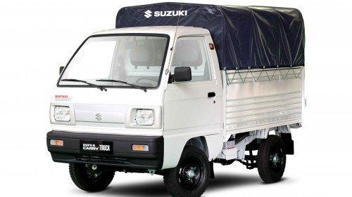 Bán Suzuki Super Carry Truck 1.0 MT sản xuất năm 2017, màu trắng, giá tốt-4